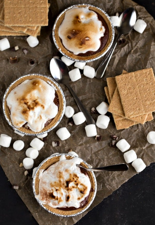 Frozen S'Mores Pie | I Heart Eating