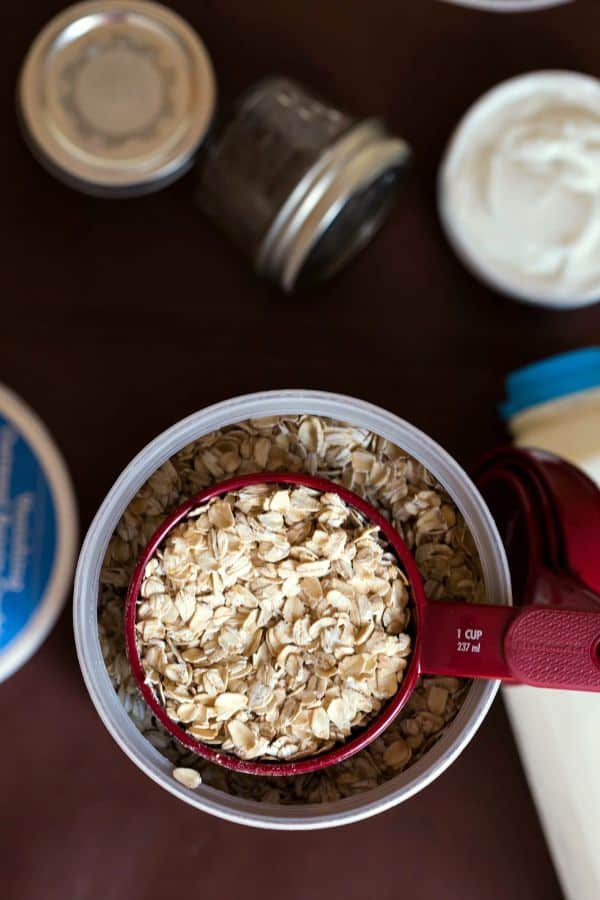 Coconut Almond Overnight Oats