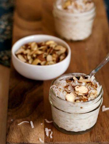 Coconut Almond Overnight Oats