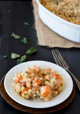 Cheesy Scalloped Carrots