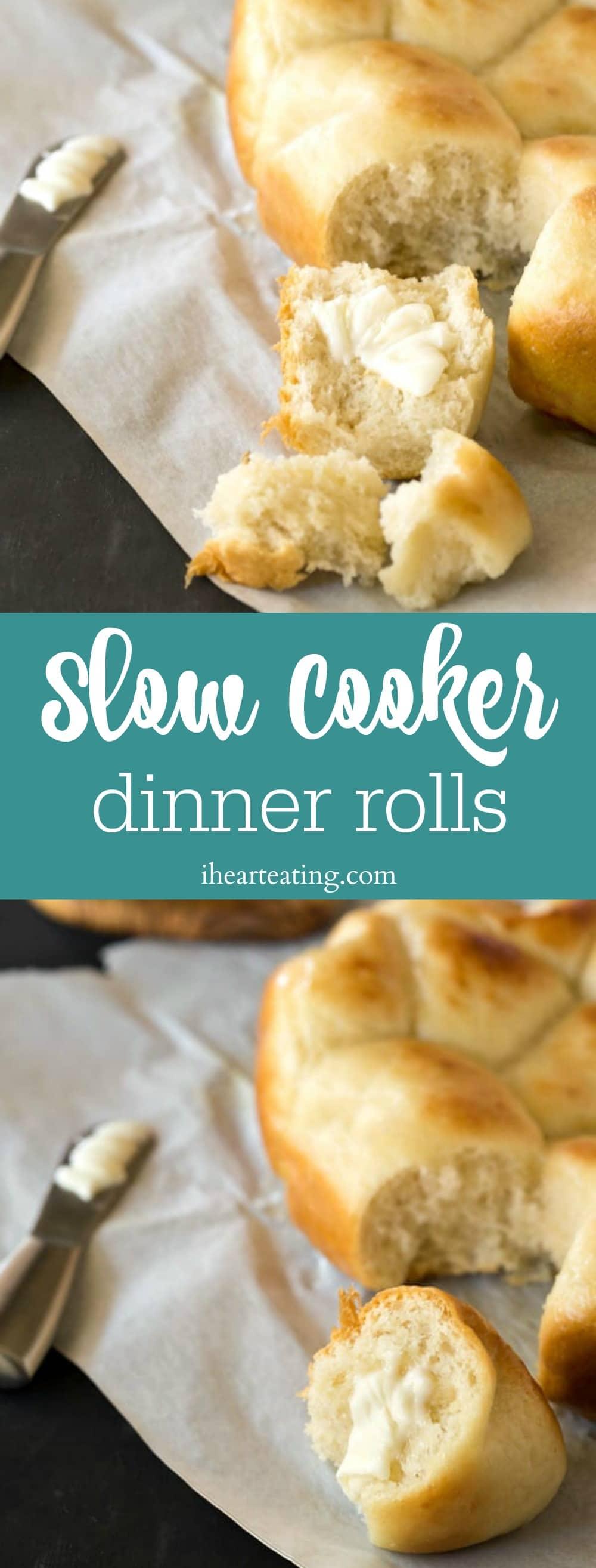 Slow Cooker Dinner Rolls
