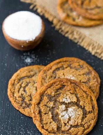 Bacon Molasses Cookies