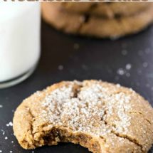 Bacon Molasses Cookie Recipe