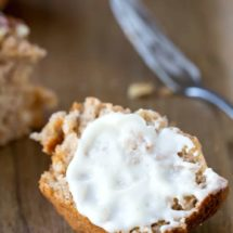 Banana Cream Cheese Muffins