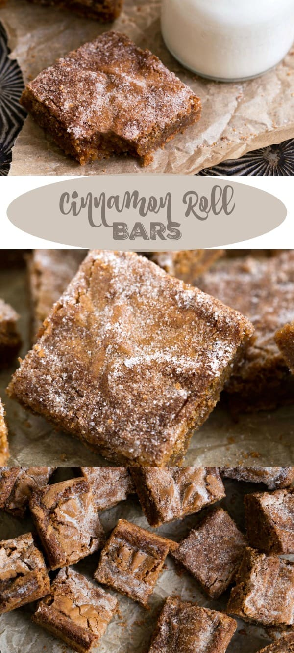 Cinnamon Roll Bar Recipe