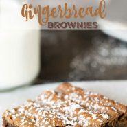 Gingerbread Brownie Recipe