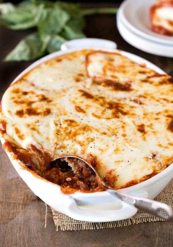 Quinoa Lasagna Recipe