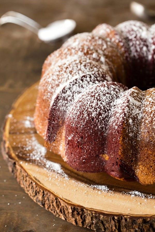 Red Velvet Marble Cake Recipe I Heart Eating