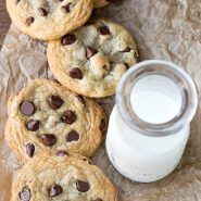 Chewy Brown Sugar Chocolate Chip Cookies