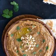 Thai Peanut Butter Hummus Recipe