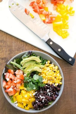 Black Bean Southwest Salad