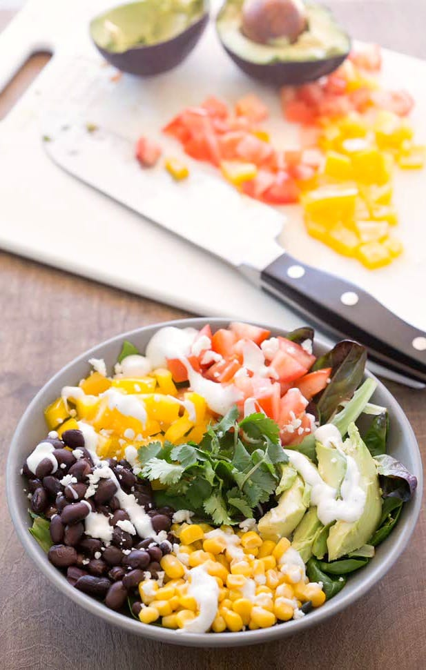 Black Bean Southwest Salad