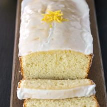 Iced Lemon Loaf Recipe