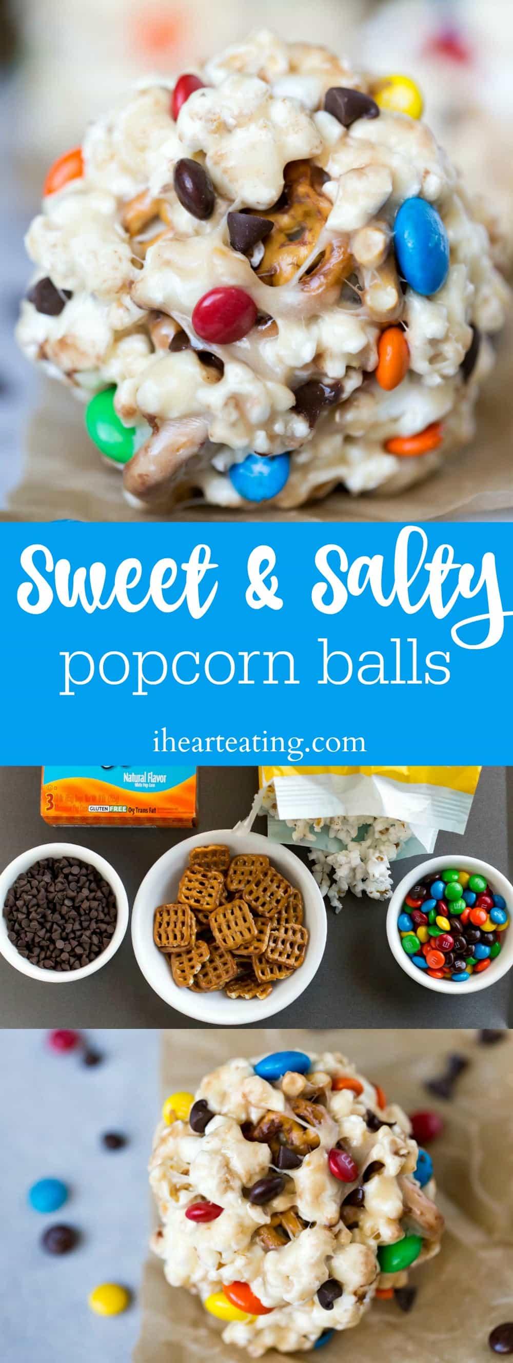 Sweet & Salty Popcorn Ball Recipe