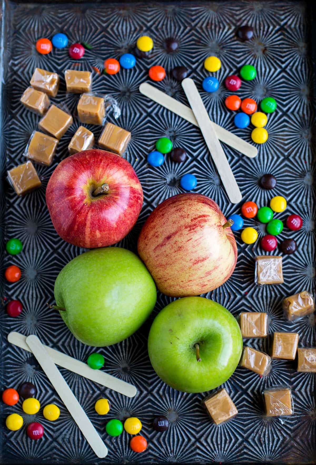 M&M Caramel Apple Recipe