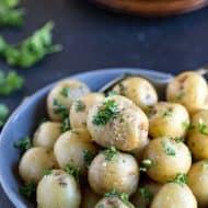 Buttered Parsley Potato Recipe