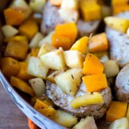 Apple and Butternut Squash Pork Tenderloin
