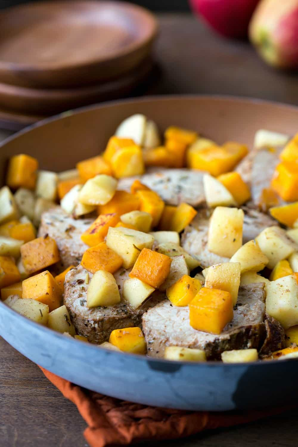 Apple and Butternut Squash Pork Loin Filet