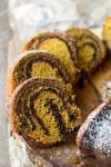 Pumpkin Chocolate Swirl Bundt Cake