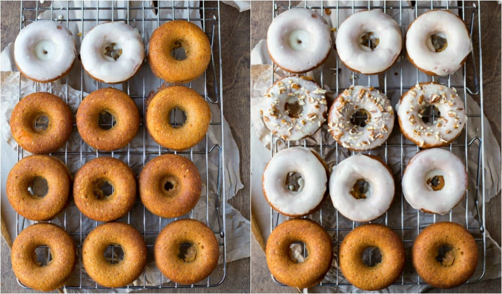Baked Sweet Potato Donuts