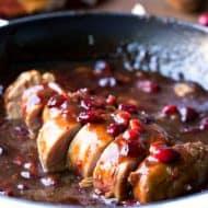 Cranberry Balsamic Pork Tenderloin