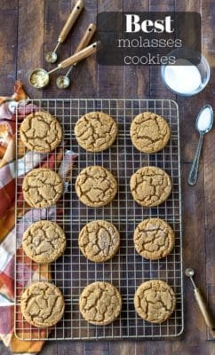 Best Molasses Cookies I Heart Eating