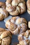 30 Minute Cinnamon Sugar Knots