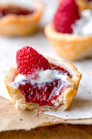 Raspberry Tassies Recipe