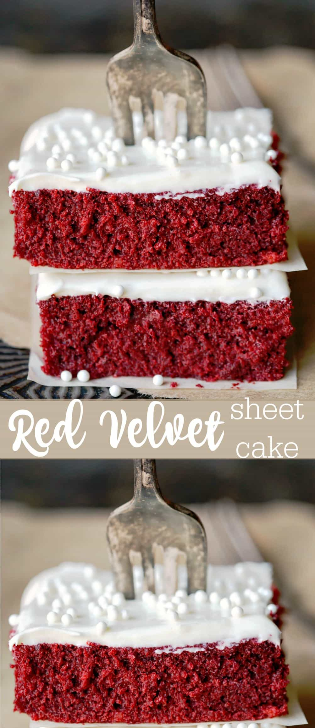 Red Velvet Sheet Cake - i Heart Eating