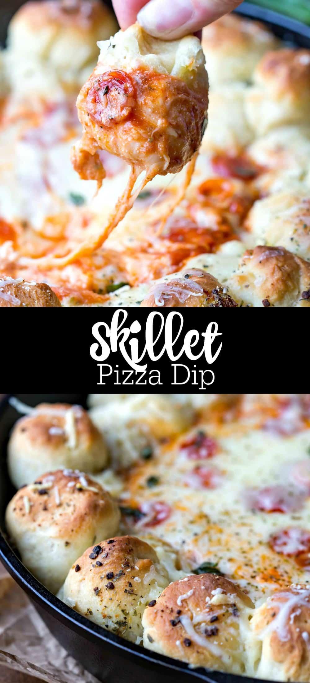 Skillet Pizza Dip Recipe