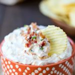 Loaded Sour Cream Dip
