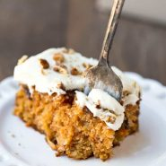 Blue Ribbon Carrot Sheet Cake