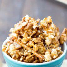 Caramel Crunch Popcorn Mix