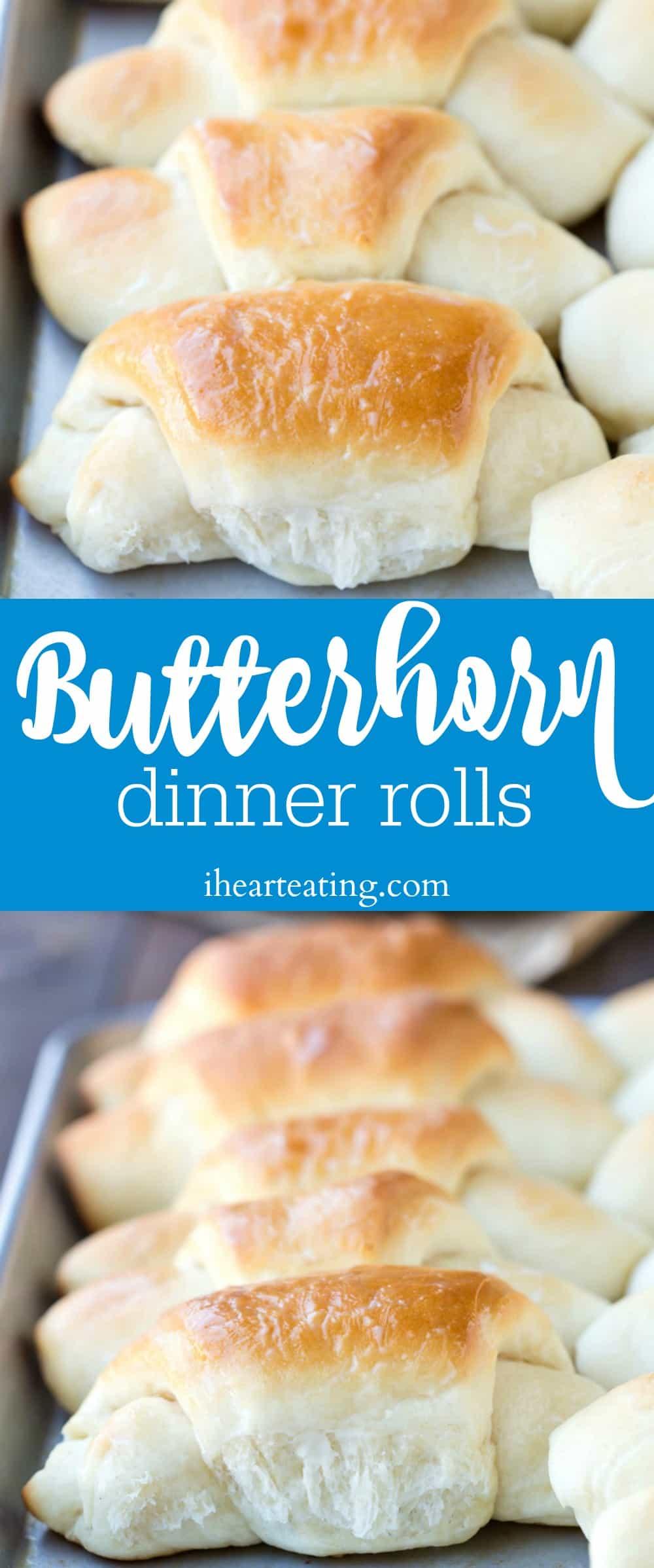 Butterhorn Dinner Roll Recipe