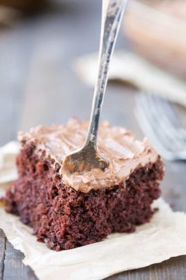 Chocolate Mashed Potato Cake
