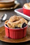 Blackberry Cobbler with Cinnamon Swirl Biscuits