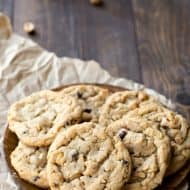 Rustic Peanut Butter Cookies