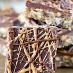 No Bake Cookie Bars