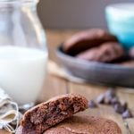 Bakery Style Double Chocolate Chip Cookies