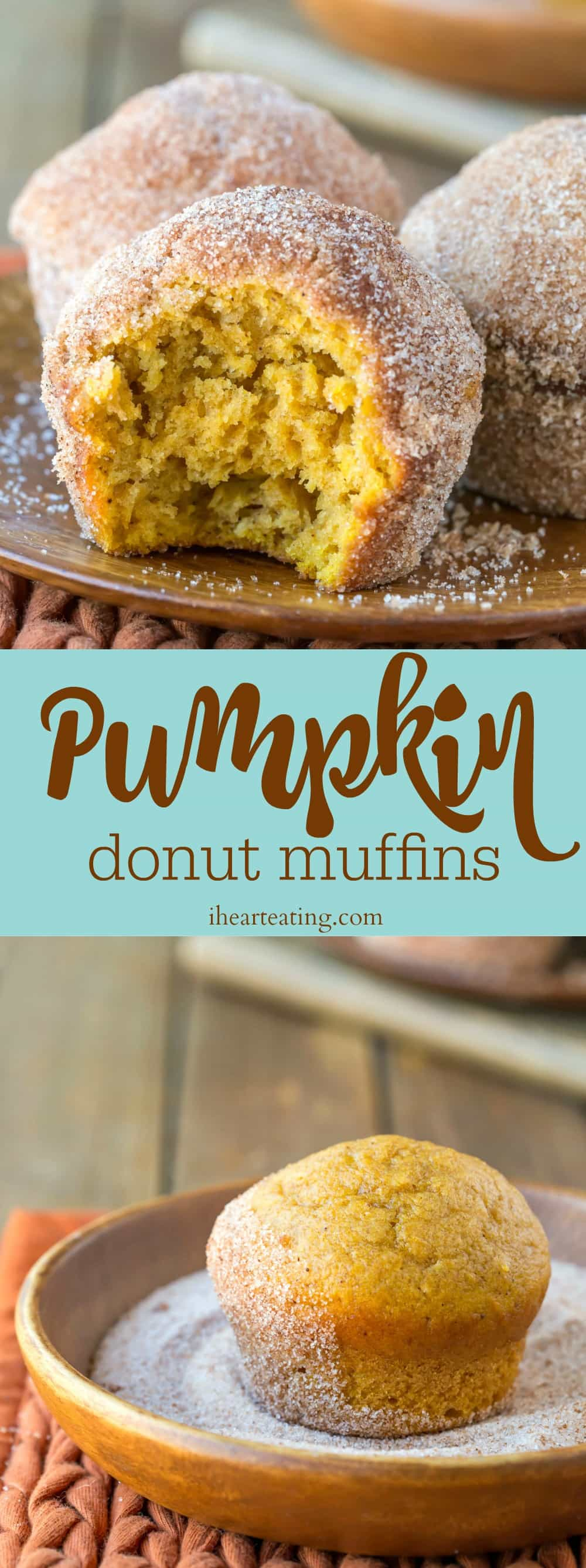 Pumpkin Donut Muffin Recipe