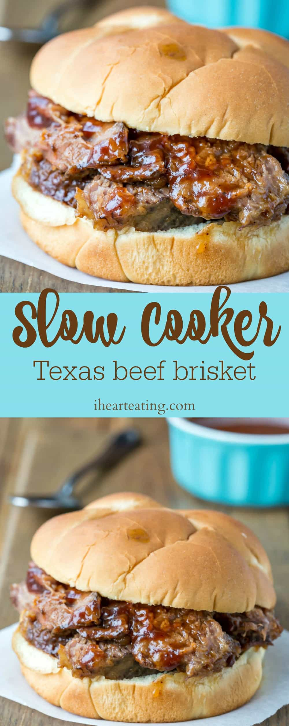 Slow Cooker Texas Beef Brisket