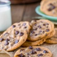 Pumpkin Chocolate Chip Pudding Cookies