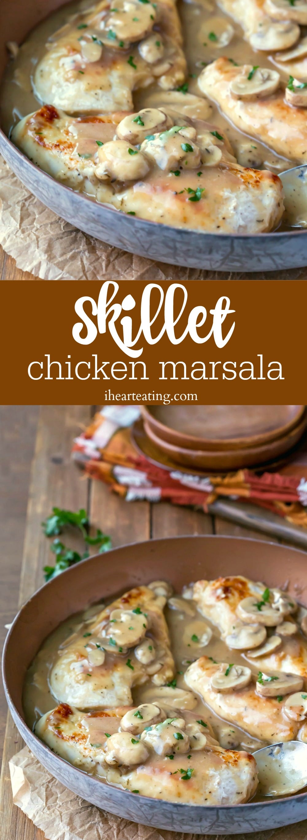 Skillet Chicken Marsala Recipe