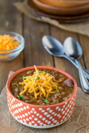 Slow Cooker Smoky White Bean and Sausage Soup