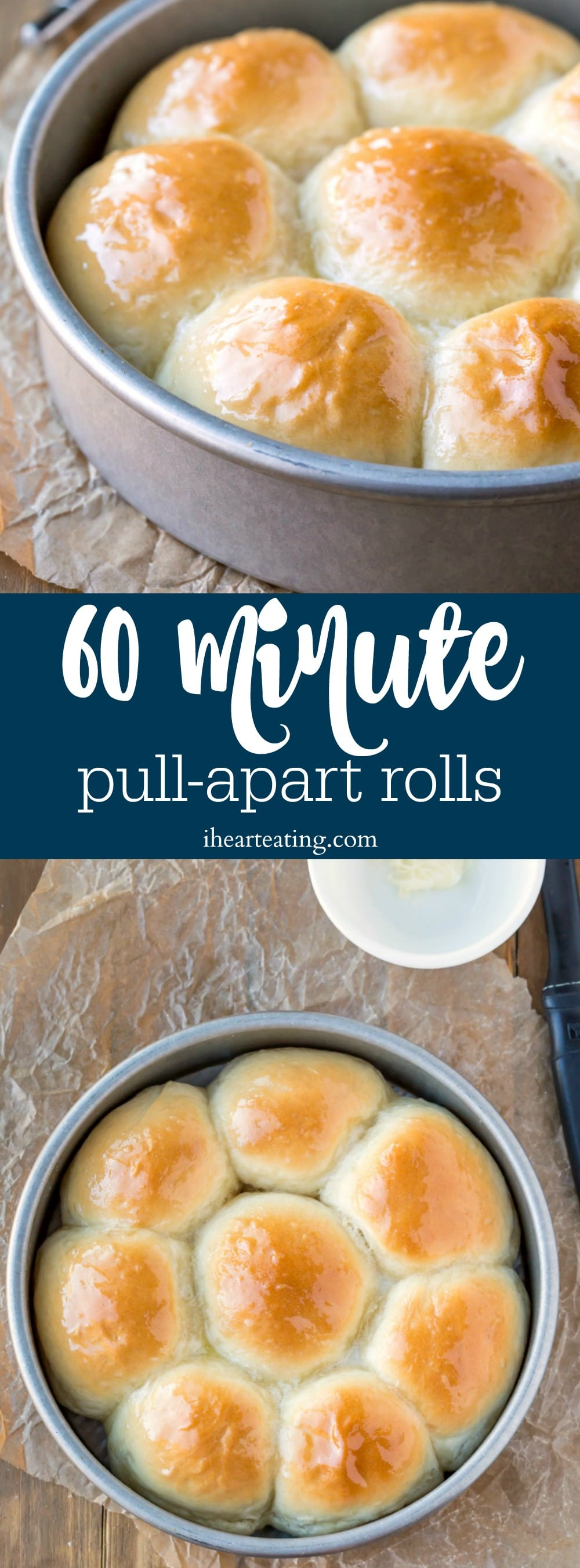 60 Minute Pull-Apart Rolls
