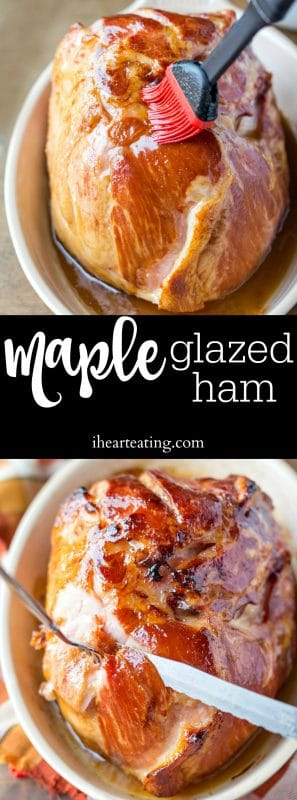 Maple Glazed Ham Recipe