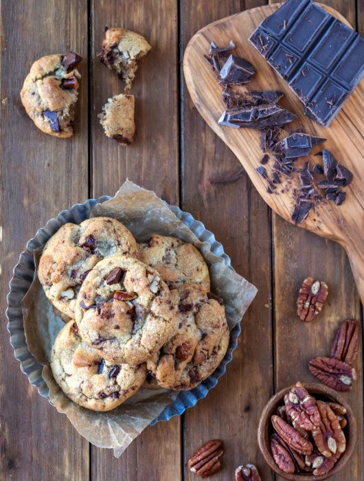 Pecan Chocolate Chunk Cookies