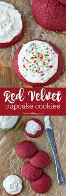 Red Velvet Cupcake Cookie Recipe