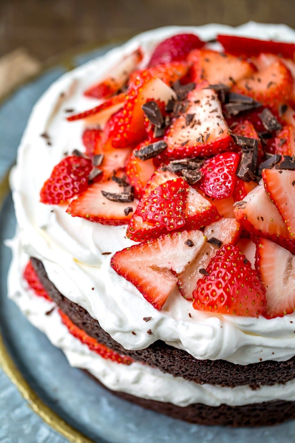 Calories In One Piece Of Strawberry Cake