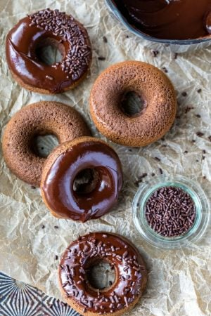 Baked Chocolate Donut Recipe